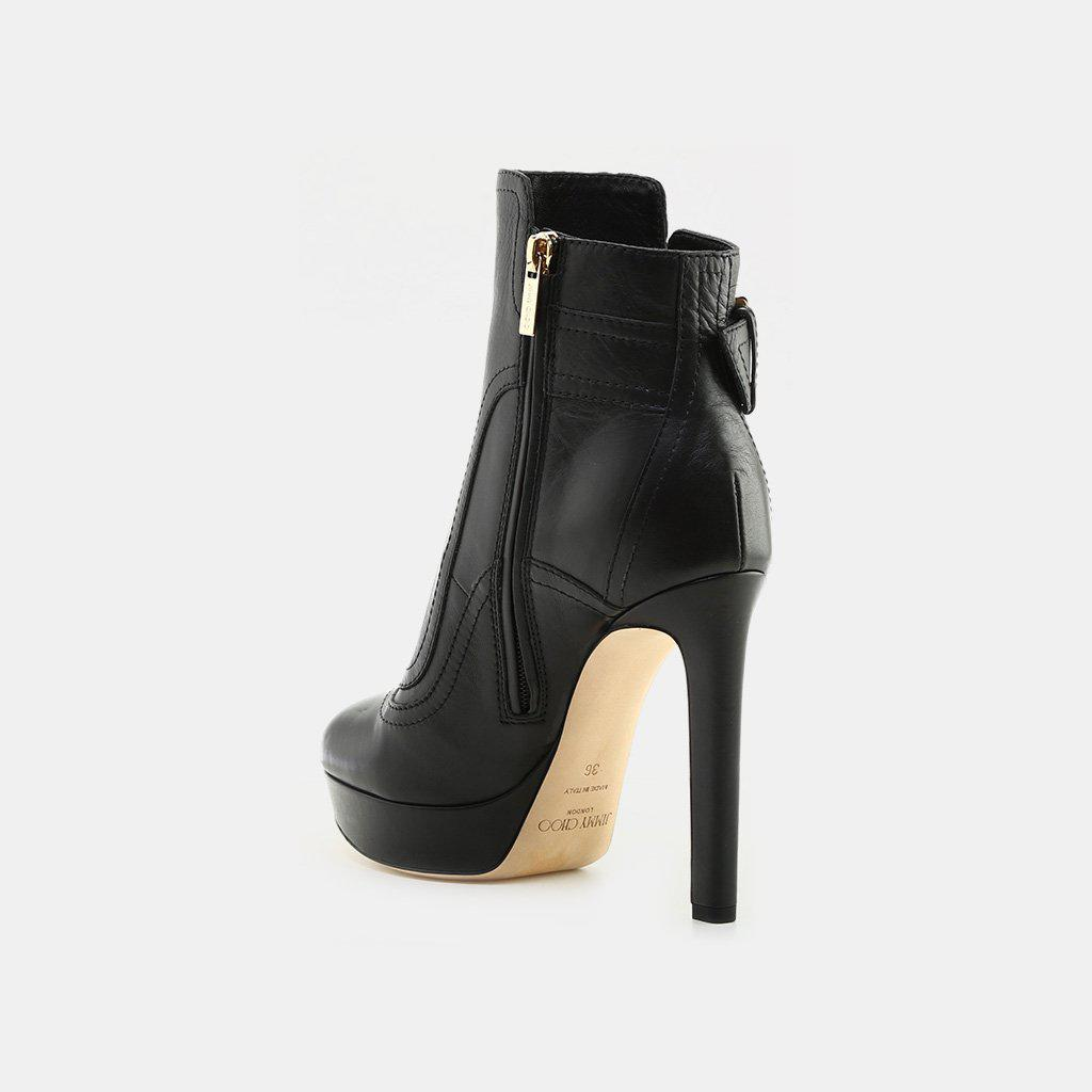 7cdd0caa14b2 Jimmy Choo - Black Britney 115 Ankle Boot - Lyst. View fullscreen