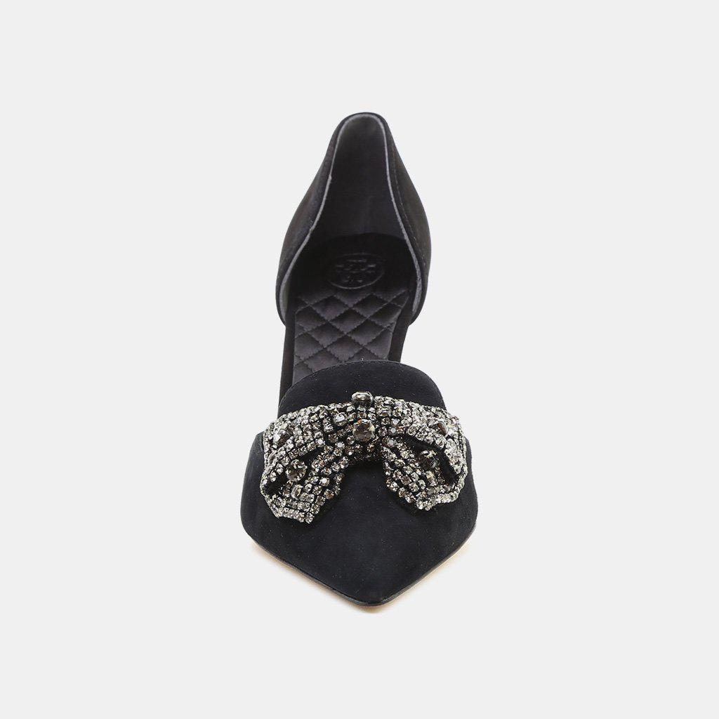 6e71a7b193ff ... Black Esme Embellished D orsay Pump - Lyst. View fullscreen