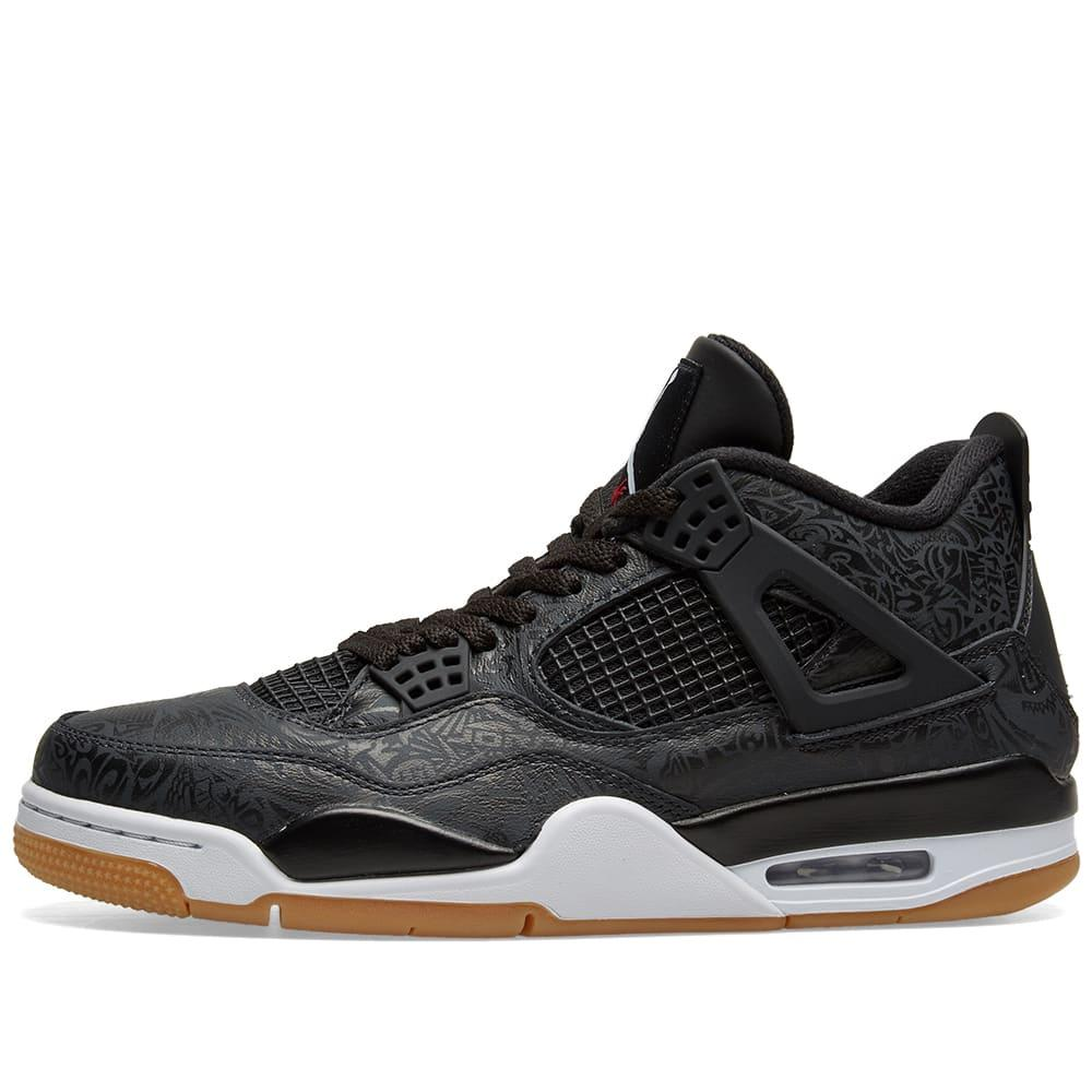 premium selection 1b4f2 9f994 Nike - Black Air Jordan 4 Retro Se Shoe for Men - Lyst. View fullscreen