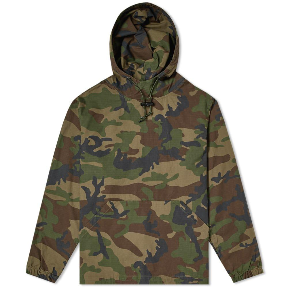 a8f9881ee2bb Stussy Ripstop Pullover Hoody in Green for Men - Lyst