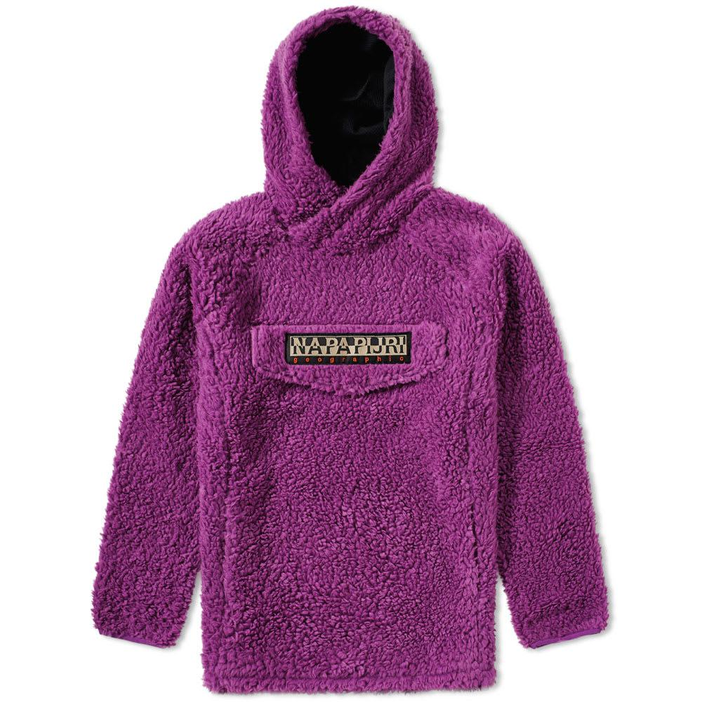 Napapijri - Purple Tribe Telve Fleece Popover Hoody for Men - Lyst. View  fullscreen 849b19a7672