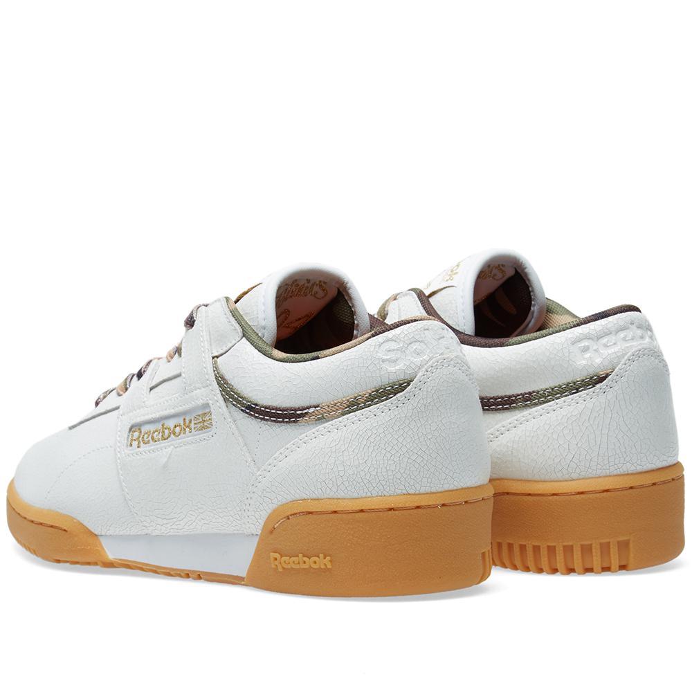 cf3ffec4308 Lyst - Reebok X Sneaker Politics Workout Lo Clean in White