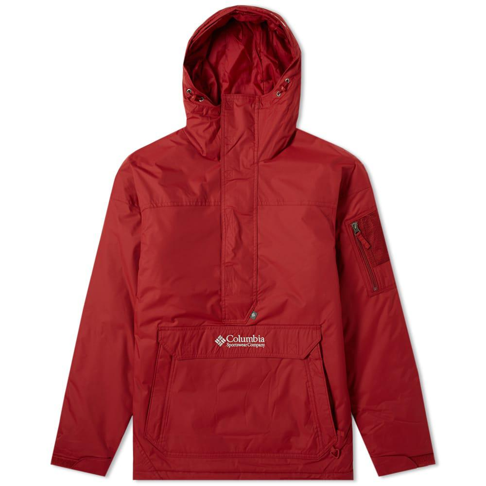 eac7018345f Columbia Challenger Pullover Jacket in Red for Men - Lyst