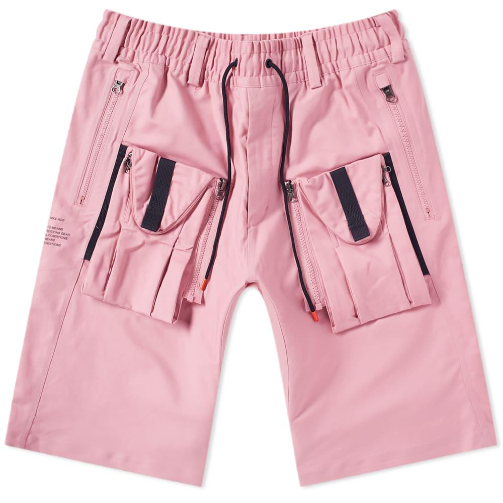 e1ff9a4f7a1db Nike Acg Deploy Cargo Short in Pink for Men - Lyst