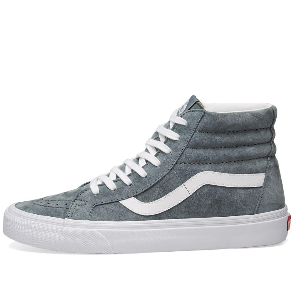 26e6fa4433 Vans - Gray Sk8-hi Reissue Pig Suede for Men - Lyst. View fullscreen
