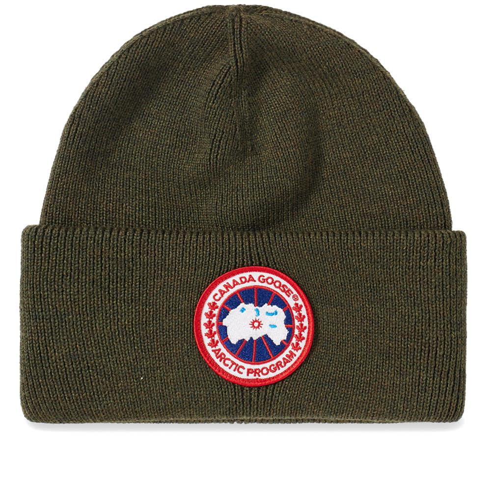 85050c1be2c Canada Goose Arctic Disc Toque Beanie in Green for Men - Save 35% - Lyst
