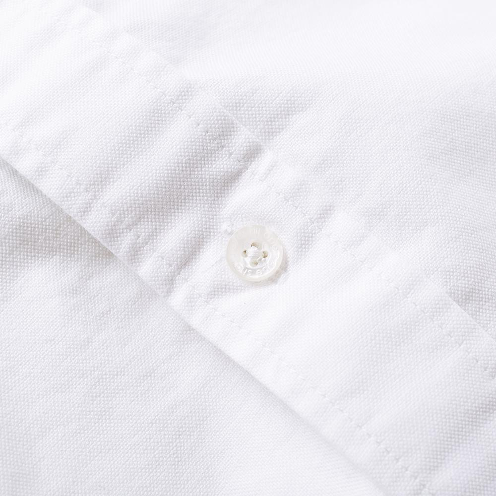 d8369471 Lyst - A Bathing Ape Embroidery Oxford Button Down Shirt in White ...