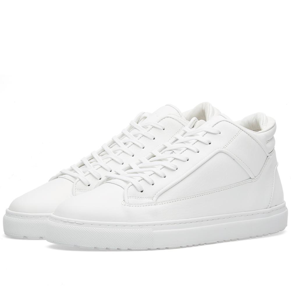 Lyst - Etq Amsterdam Etq. Mid Top 2 Sneaker in White for Men bc696e1eb