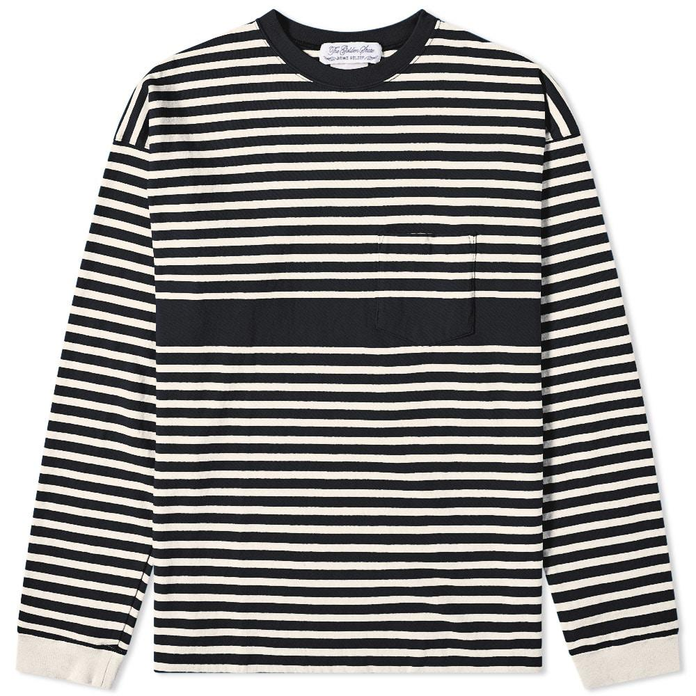 2c6de44be5 Lyst - Remi Relief Long Sleeve Stripe Tee in Black for Men