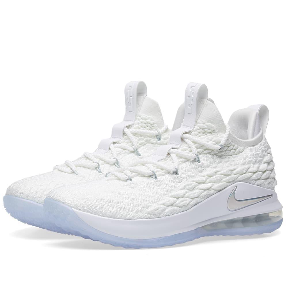 Lyst - Nike Lebron Xv Low in White 067b9de4c