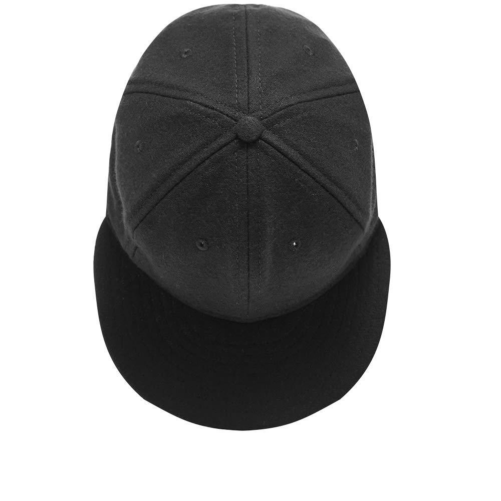 fe4ec8b44b995 Ebbets Field Flannels - Black Wool Cap for Men - Lyst. View fullscreen