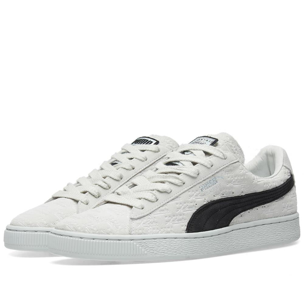 27253ceeabd PUMA X Panini Suede Classic in White for Men - Lyst