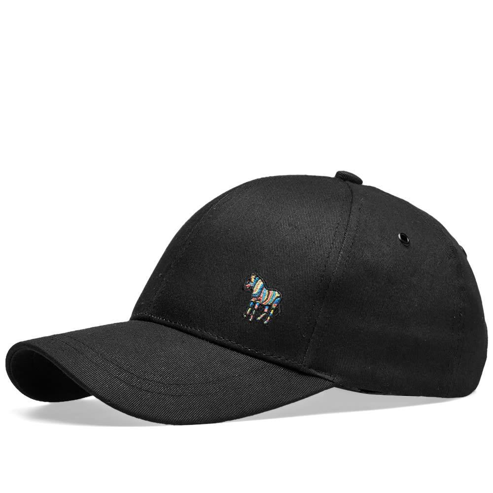 180f7d1d113 Lyst - Paul Smith Zebra Logo Cap in Black for Men