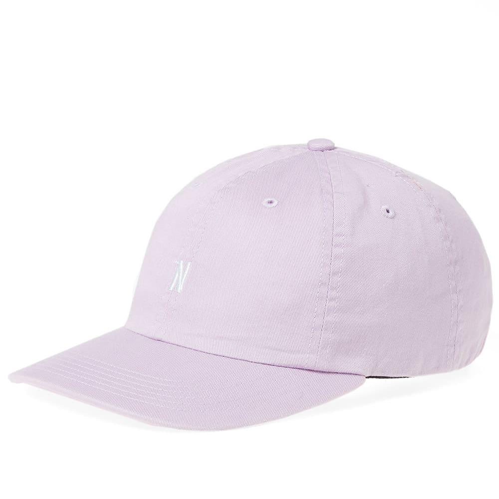 a78ac9f2056 Lyst - Norse Projects Light Twill Sports Cap in Purple for Men
