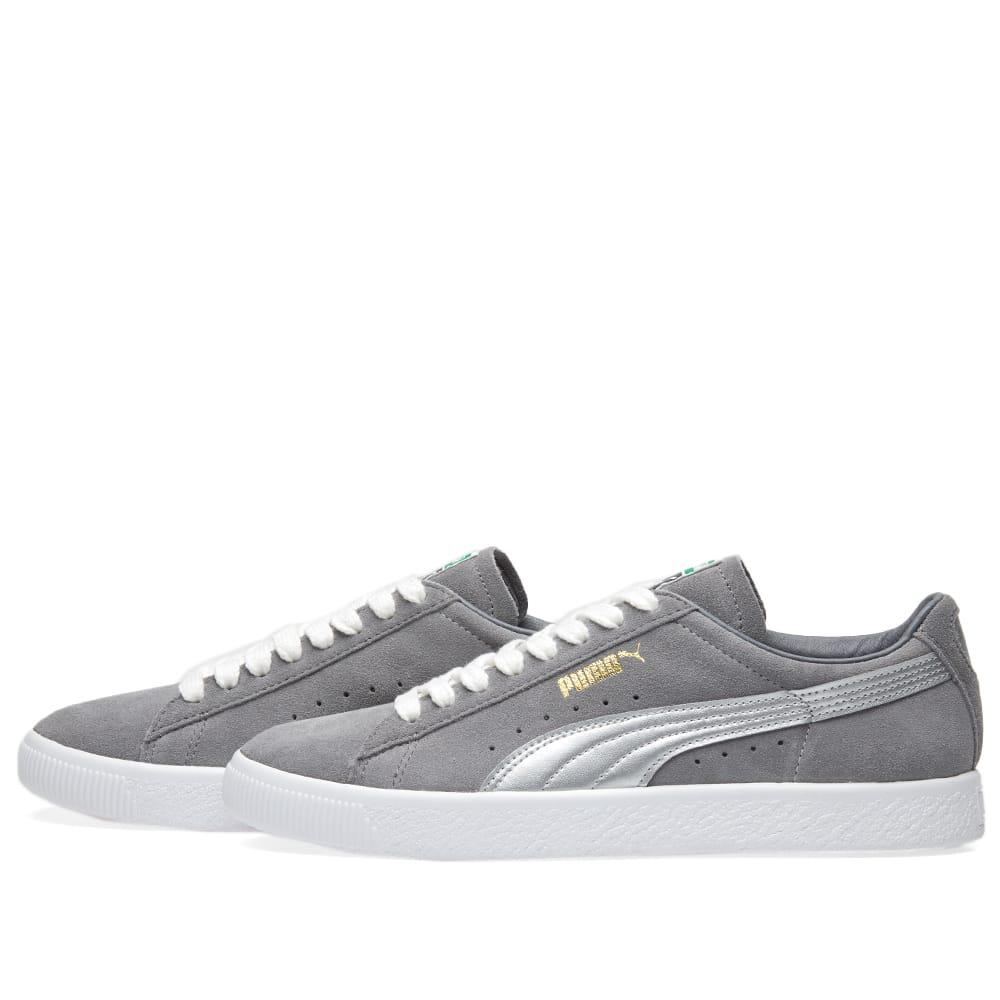 29c9069d5d9 PUMA - Gray Suede 90681 Silver Og Pack for Men - Lyst. View fullscreen