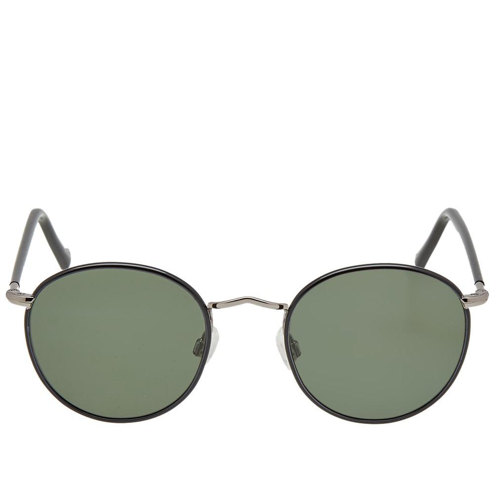 9b3409ed95ba Moscot - Black Zev 49 Sunglasses for Men - Lyst. View fullscreen