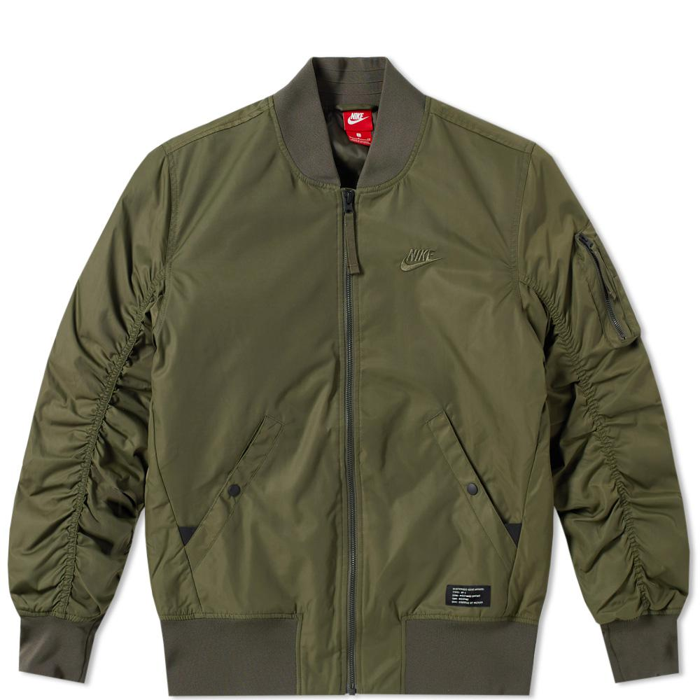 9548b0bbf0 Lyst - Nike Air Force 1 Jacket in Green for Men