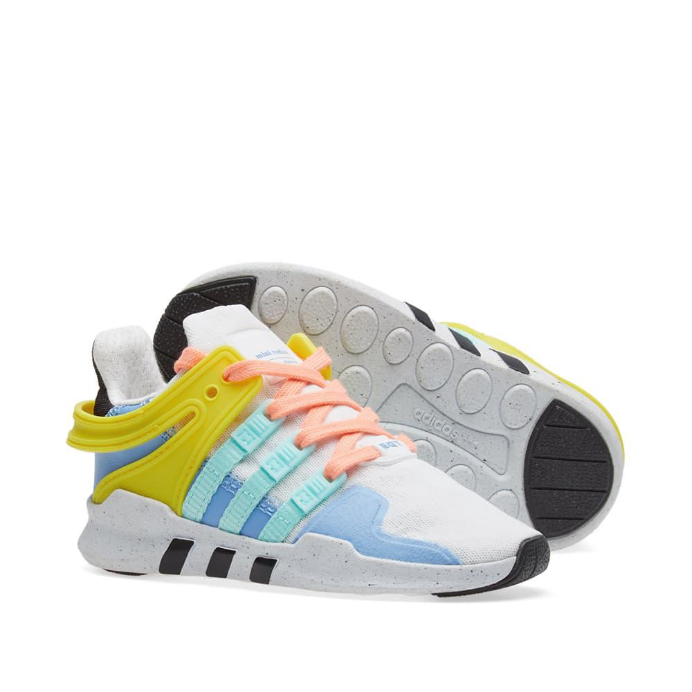 online store 5200a b047d adidas Equiptment Support Adv Mini Rodini Sneakers in White