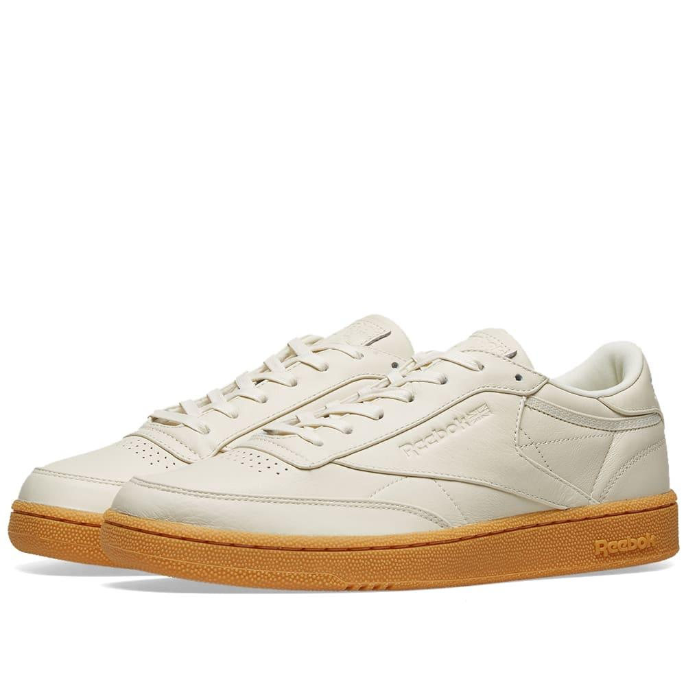 832d5909b64 Reebok Club C 85 Premium Gum  folded Edges  in White for Men - Lyst