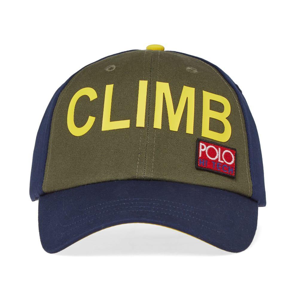 Polo Ralph Lauren - Blue Hi-tech Trek Cap for Men - Lyst. View fullscreen c38f91cc83ec