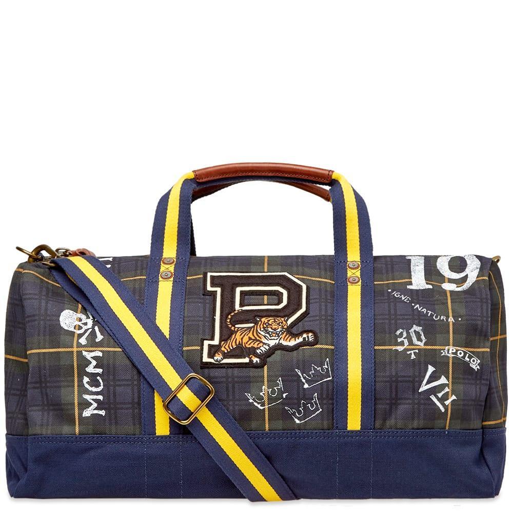 Lyst - Polo Ralph Lauren G Trtn Duffl Men s Travel Bag In Blue in ... 5dc3248fe4