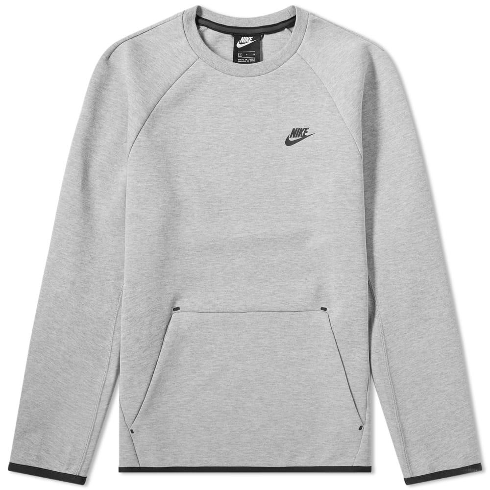 d36078874 Lyst - Nike Tech Fleece Crew Sweat in Gray for Men