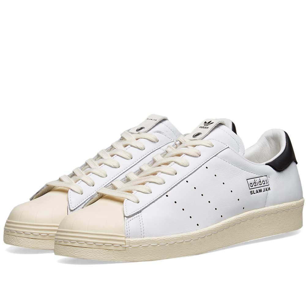 2758b518c3b3 Lyst - adidas Originals X Slam Jam Superstar 80s in White for Men
