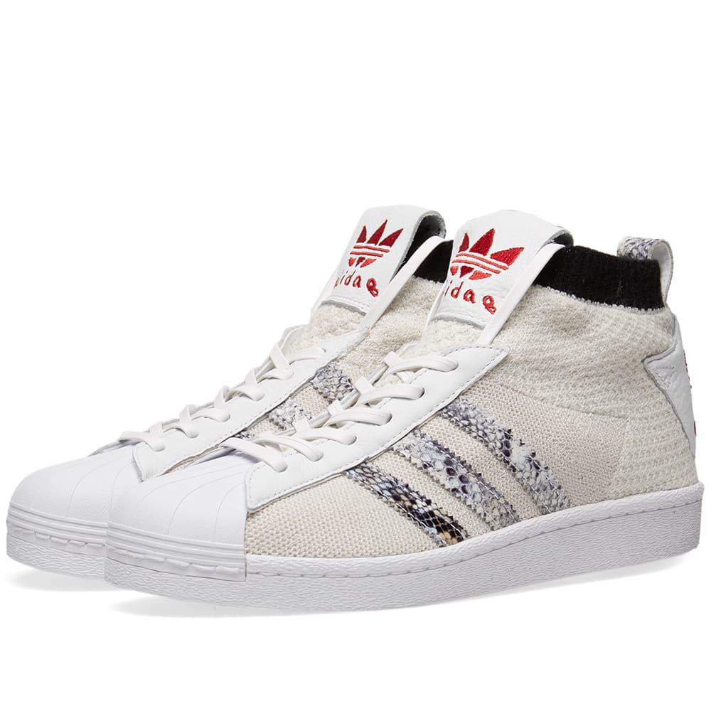 info for 58470 f63fe Lyst - adidas X United Arrows  Sons Ultra Star in White for