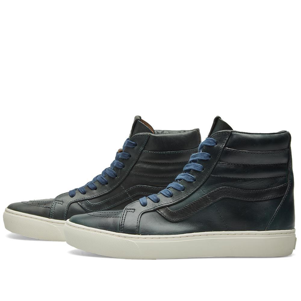 d65d994c84 Lyst - Vans X Horween Leather Co. Sk8-hi Cup Lx in Blue for Men