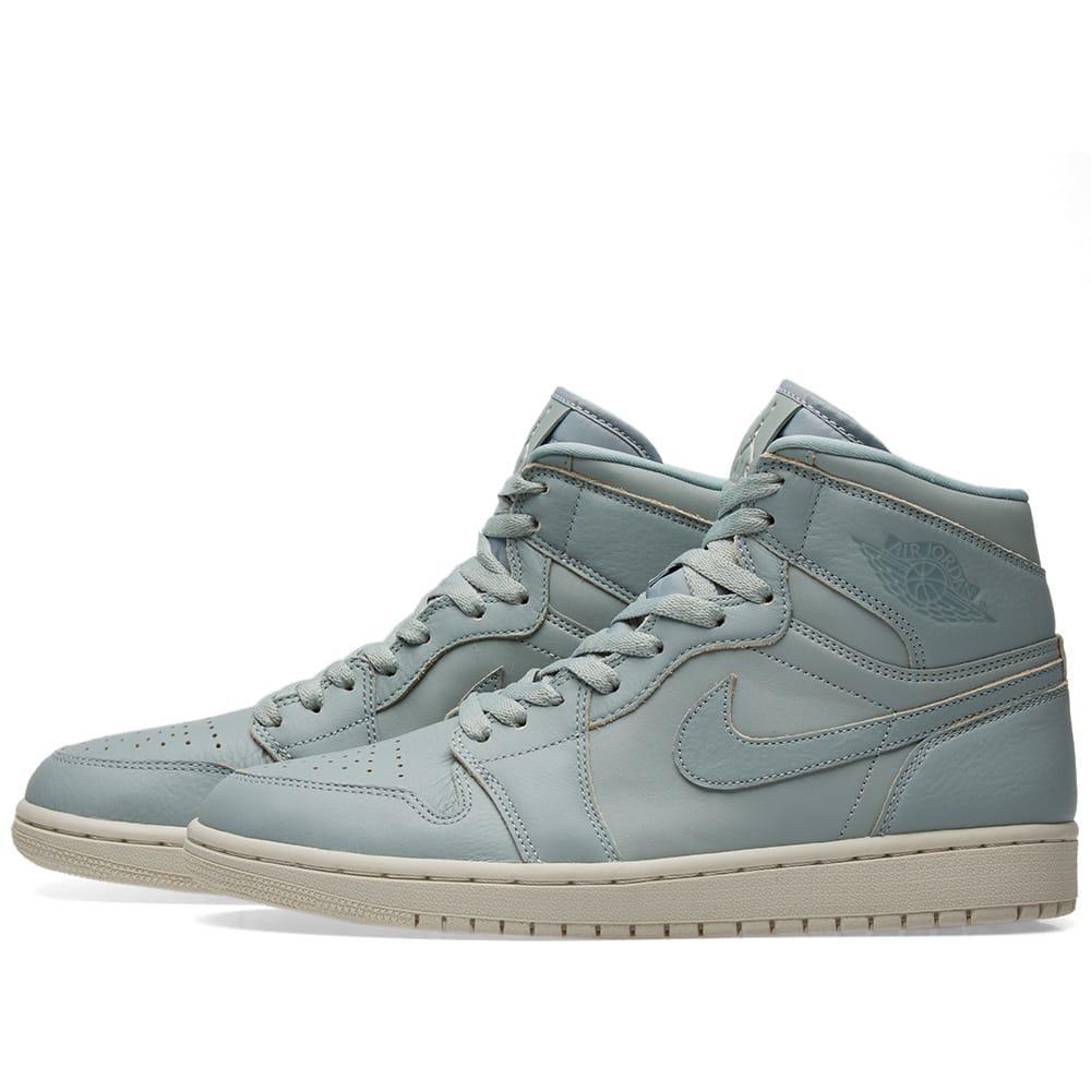 wholesale dealer fb2da 88b8f Lyst - Nike Air Jordan 1 Retro High Premium in Green for Men