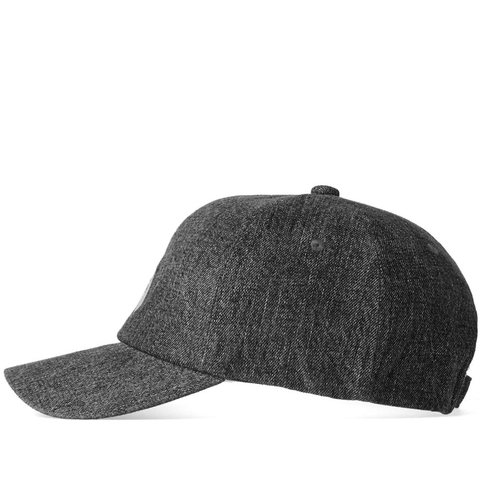 d44533fcb40 Lyst - A Bathing Ape Ape Head Embroidery Panel Cap in Black for Men