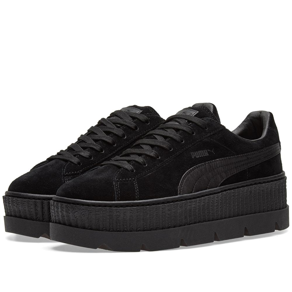puma x fenty by rihanna cleated creeper in black lyst. Black Bedroom Furniture Sets. Home Design Ideas