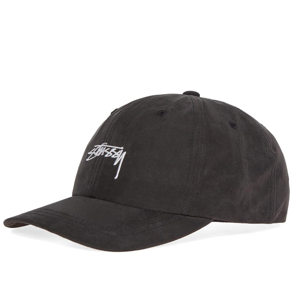 Stussy Peached Smooth Stock Low Pro Cap in Black for Men - Save ... 2cd42a6abaa2