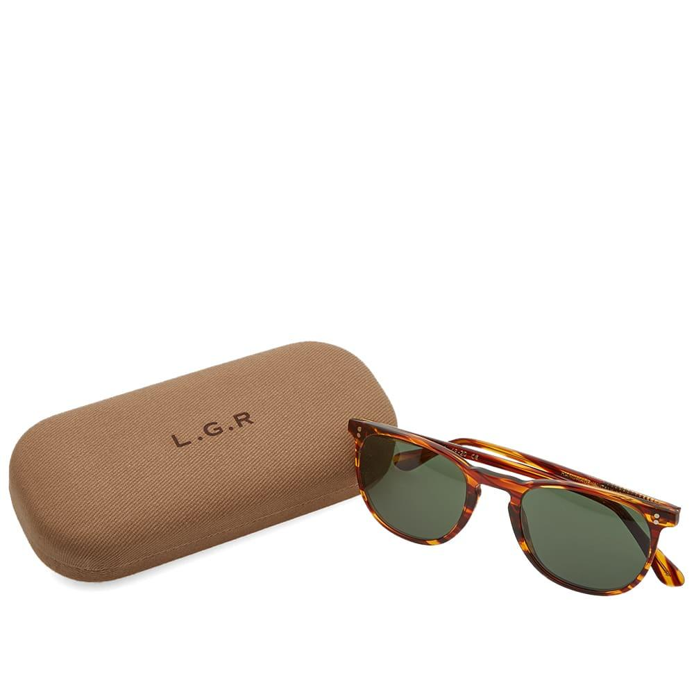 8dab4634408e Lyst - Lgr Nubia Sunglasses in Brown for Men