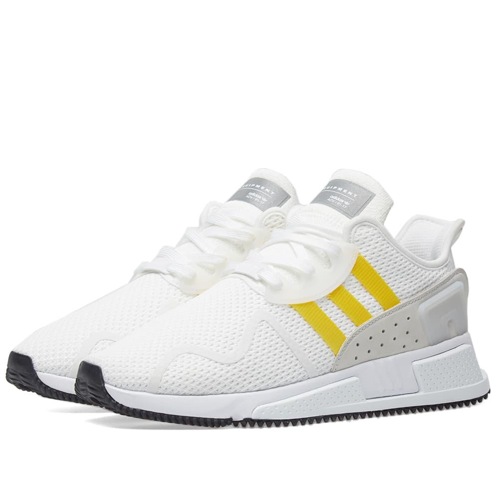 innovative design 9f22c a1ad3 adidas Eqt Cushion Adv Shoes in White for Men - Lyst