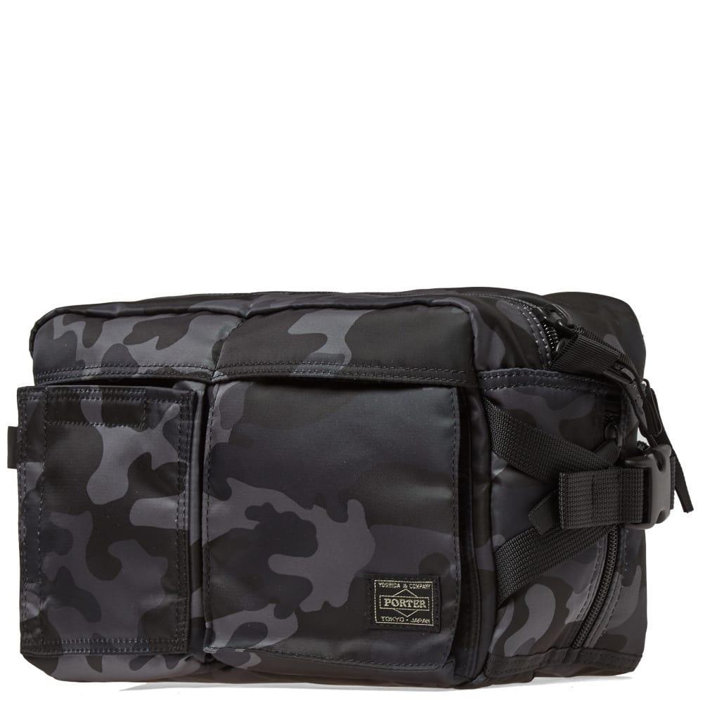 c7a73ac874b3 Head Porter - Black Jungle Camo Waist Bag for Men - Lyst. View fullscreen