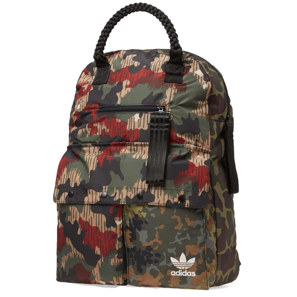 edde805765e6 adidas X Pharrell Williams Outdoor Backpack in Green for Men - Lyst