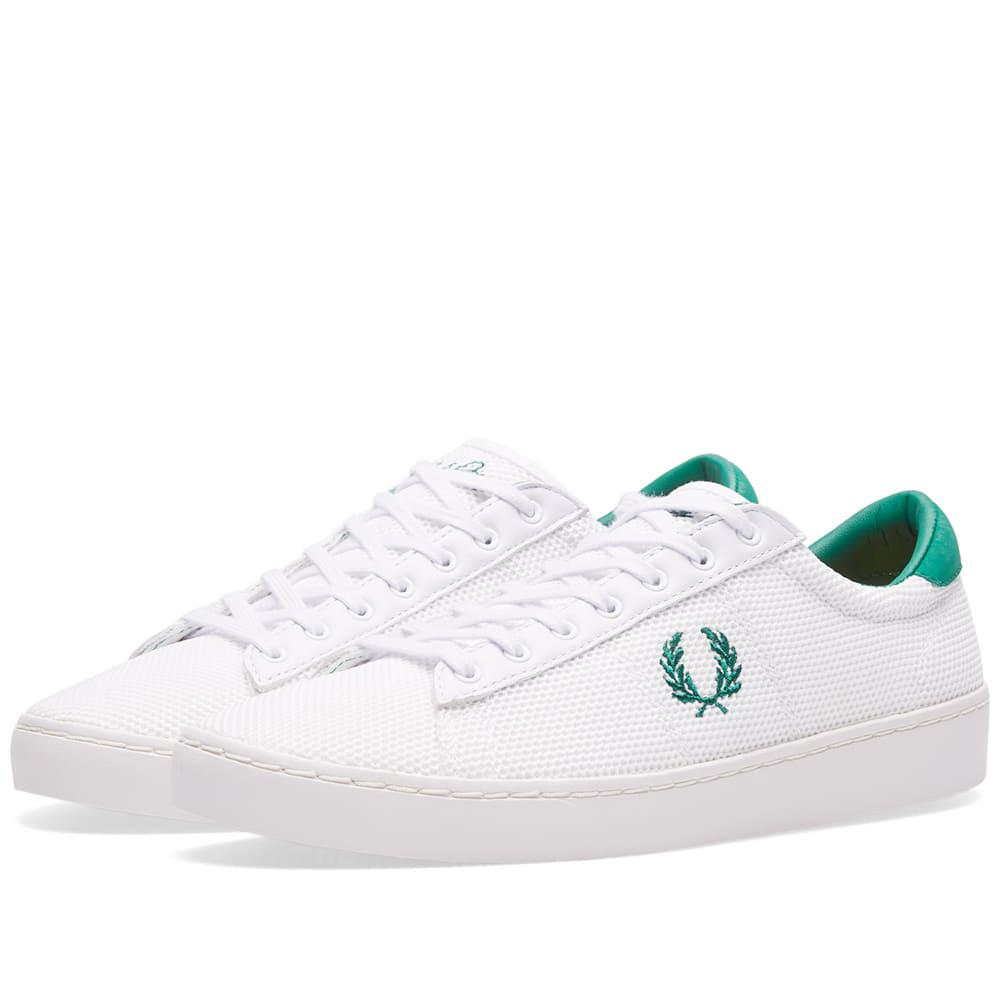Fred Perry Spencer Mesh Sneakers in 8onYwI