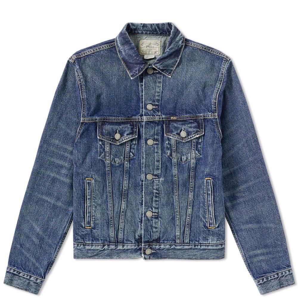 Polo Ralph Lauren Denim Jacket in Blue for Men - Lyst