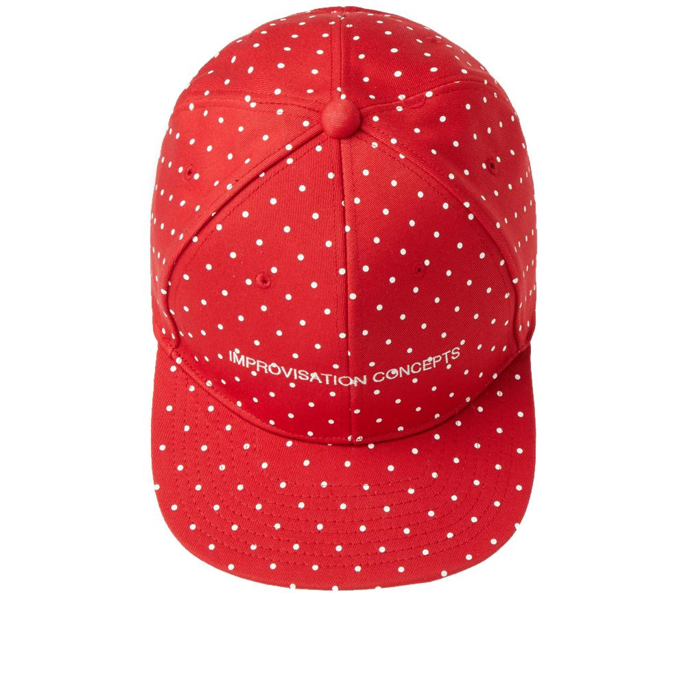 c8f2d8ef Undercover Improvisation Concepts Polka Dot Cap in Red for Men - Lyst
