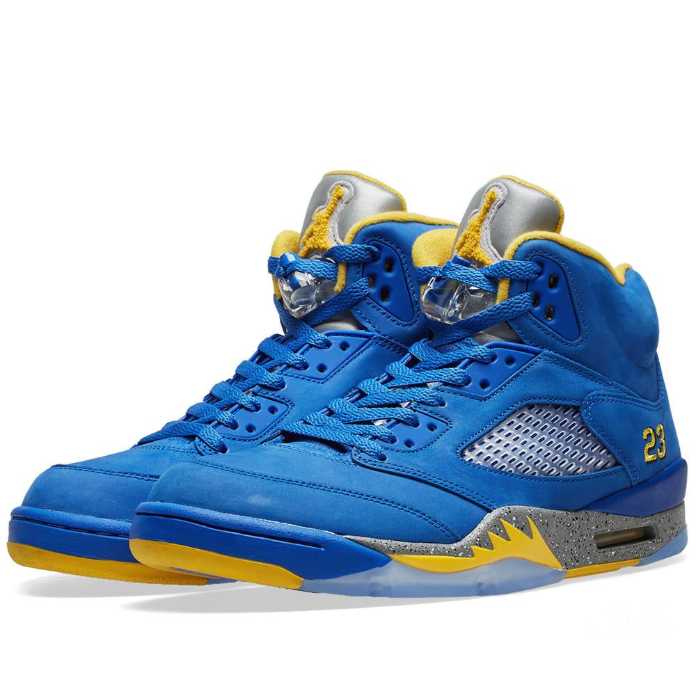3af68b87dc Nike Air Jordan 5 Retro Laney in Blue for Men - Lyst