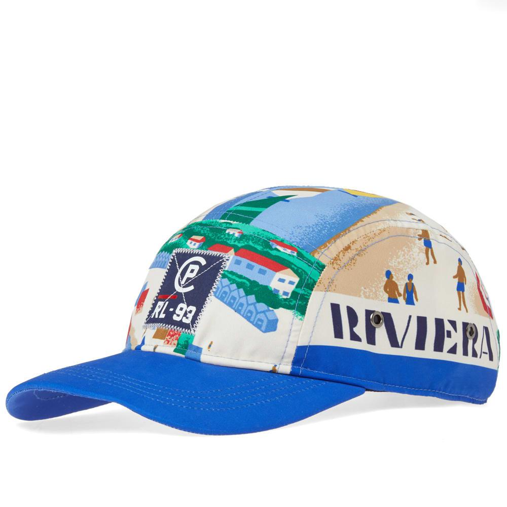 22853d13b749a Polo Ralph Lauren Cp93 Sailing Print Cap in Blue for Men - Lyst