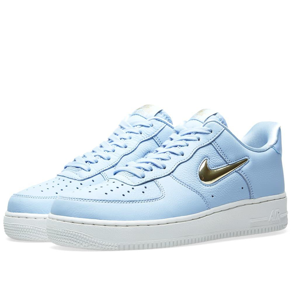 on sale 8876a 1d7e0 Nike Air Force 1  07 Premium Lx W in Blue - Lyst