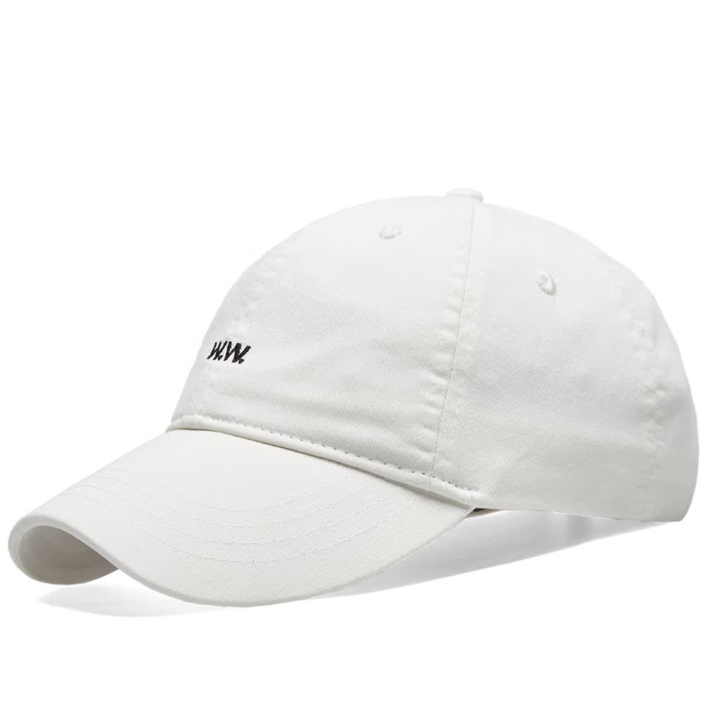 Lyst - Wood Wood Aa Low Profile Cap in White for Men 76fa1cf0740c