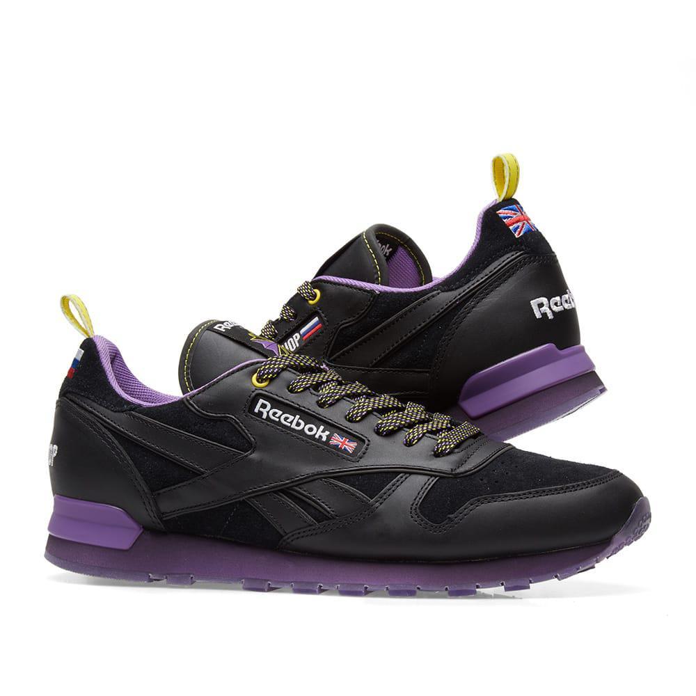 bbc0460d18eb Reebok X Brandshop Classic Leather in Black for Men - Lyst