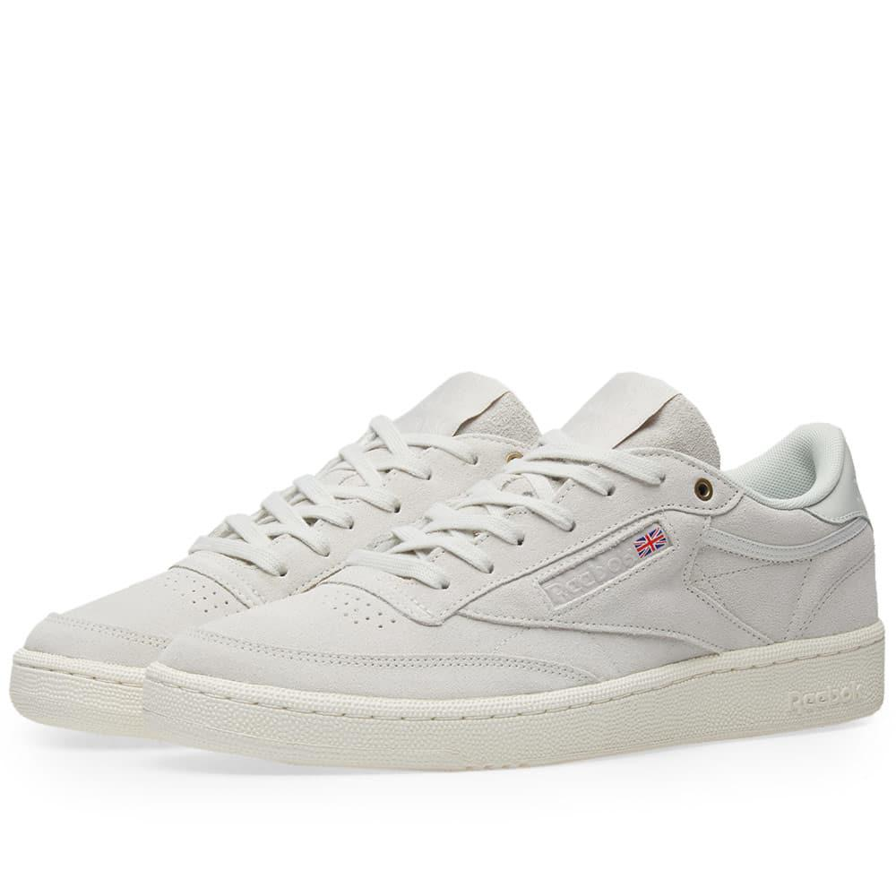 Lyst - Reebok Club C 85 Montana Cans Pack in White for Men b9fc283be