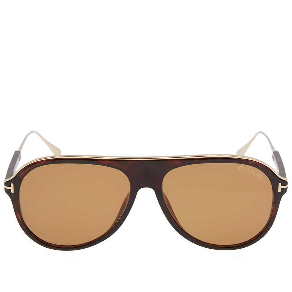 3e9c731ad9 Lyst - Tom Ford Tom Ford Ft0624 Nicholai-02 Sunglasses in Brown for Men