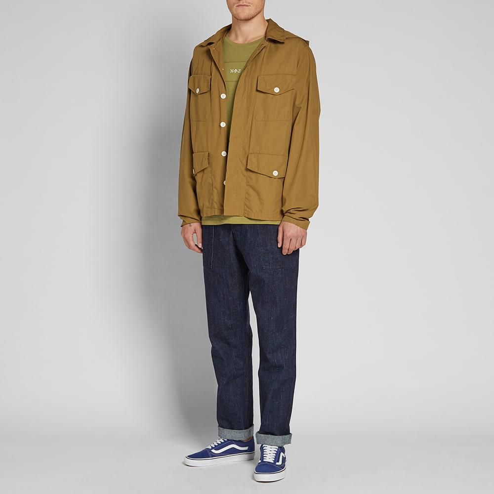 7e3f11e765be Nigel Cabourn - Brown X Lybro Field Shirt Jacket for Men - Lyst. View  fullscreen