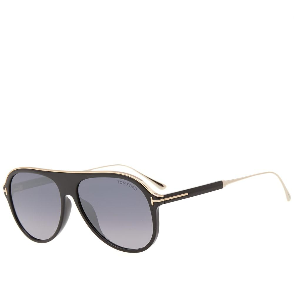ec442742f8f ... Black Tom Ford Ft0624 Nicholai-02 Sunglasses for Men - Lyst. View  fullscreen