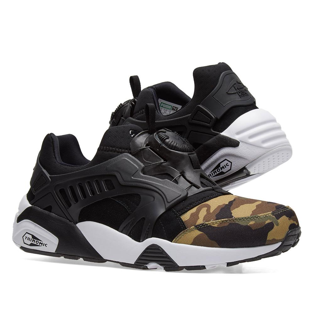 1fcbbec551 PUMA Disc Blaze Camo in Green for Men - Lyst